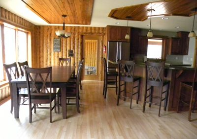 Twin Oaks- dining area